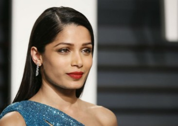 Frieda Pinto's food drive at the Oscars