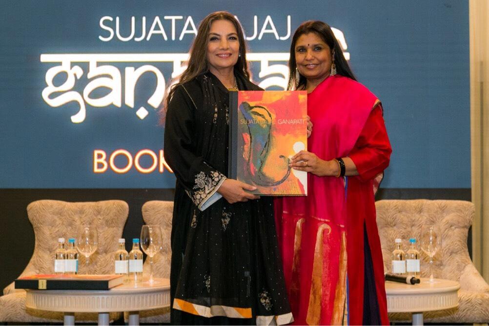 Shabana Azmi with Sujata Bajaj