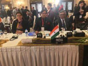 The three-member delegation from India in Pakistan