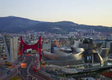 Spain celebrates 20th anniversary of Guggenheim Museum