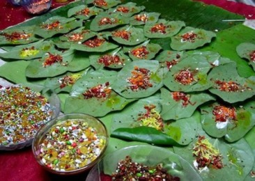 Paan: A traditional Indian mouth freshener