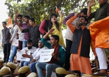 Student movements in India spark nationalism debate