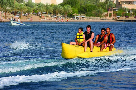 Water sports in Aqaba