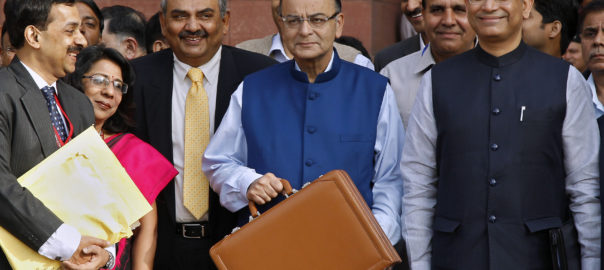 Arun Jaitley, the Finance Minister during the Federal Budget 2017