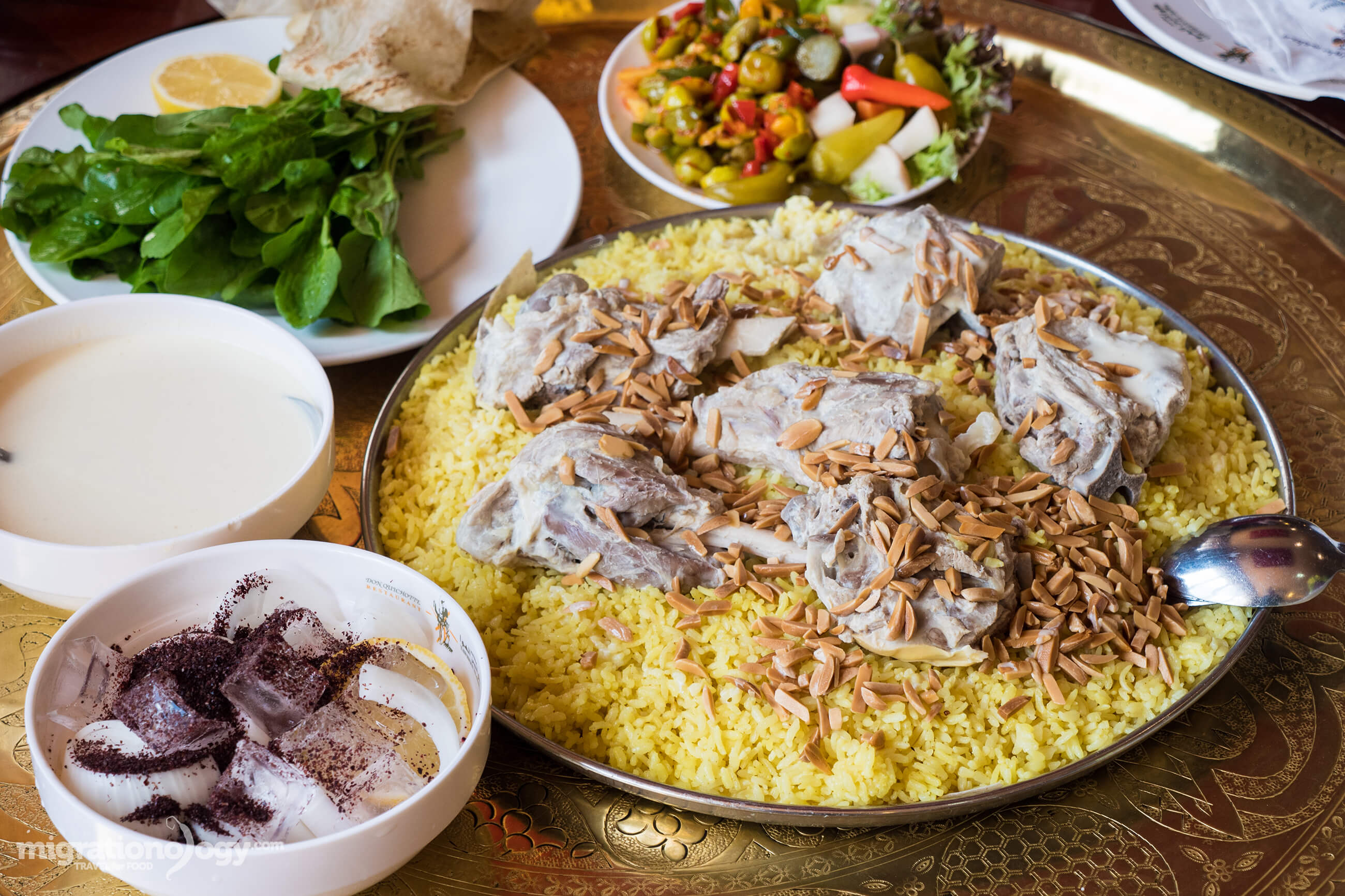 Mansaf is so important in Jordan that it's been known to resolve conflicts and restore peace within tribes in the country