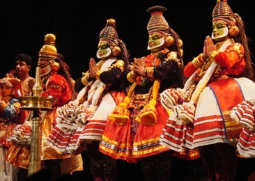 Five ancient theatre art forms from India