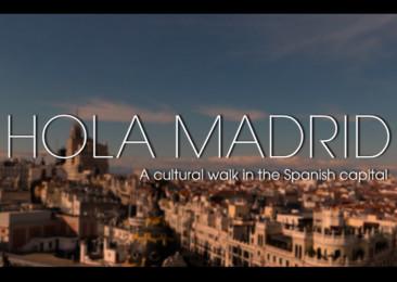 A cultural walk in Madrid