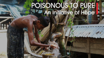Remedy for arsenic contamination of groundwater in India