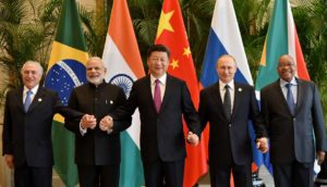 BRICS consists of 5 emerging economies. An image of the leader from meeting on sidelines of G20 Summit, 2016. Photo-PTI