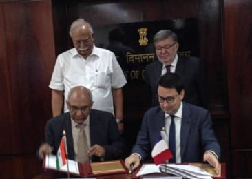 India and France sign MoU on Civil Aviation