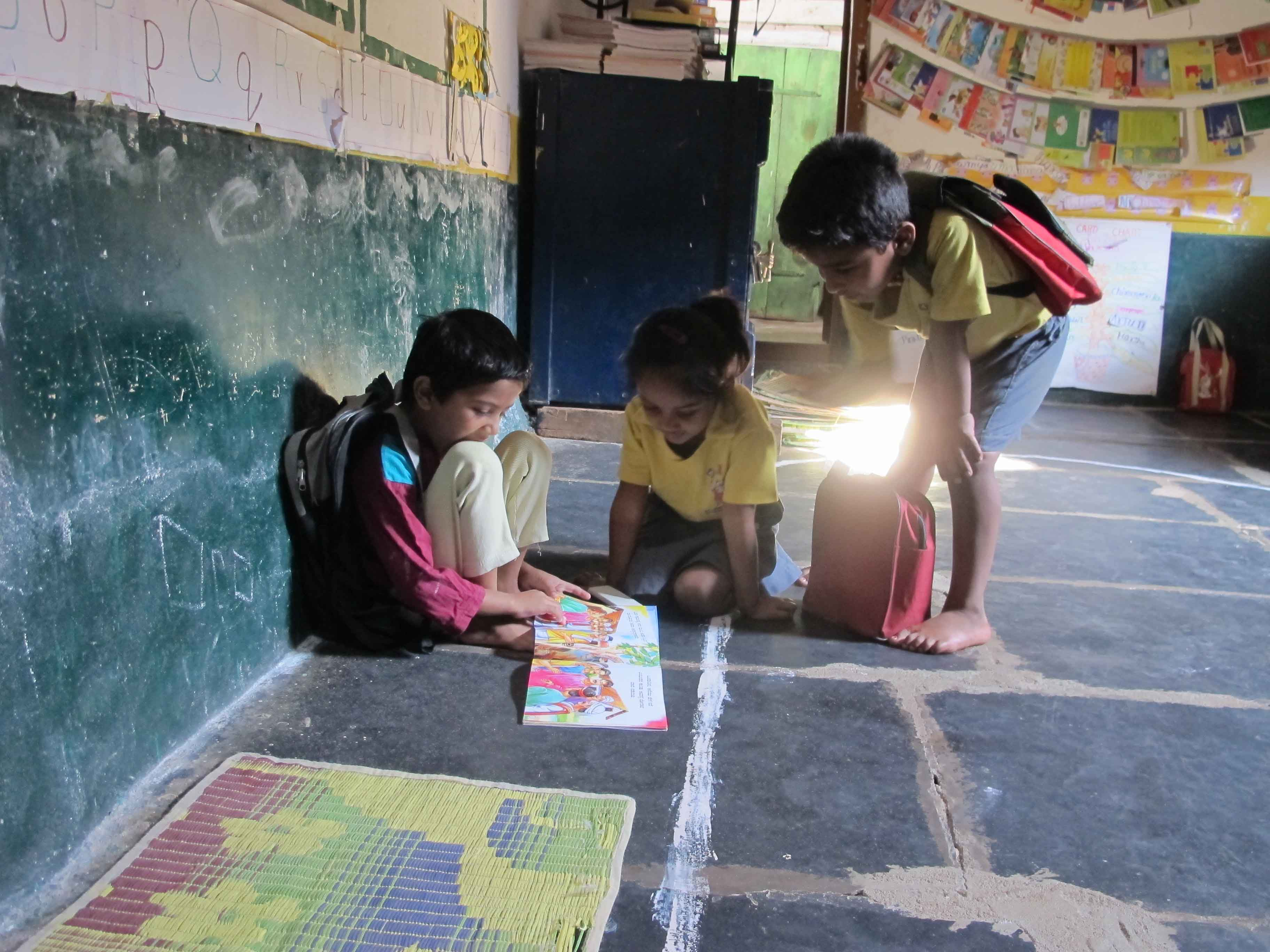 With around 63 pc of India's population residing in rural areas, there is a need to fix the problems associated with educating the underprivileged