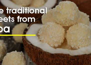 Five traditional sweets from Goa