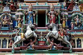The Sri Mahamariamman in Kuala Lumpur is Malaysia's oldest temple