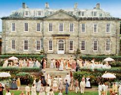 Tea party at Antony House - England