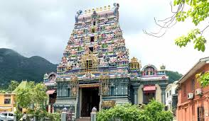 This temple in Victoria resembles many south Indian temples