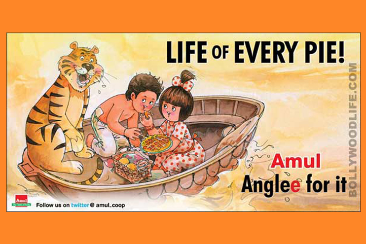 Showcasing 'Amul Hits' over the years