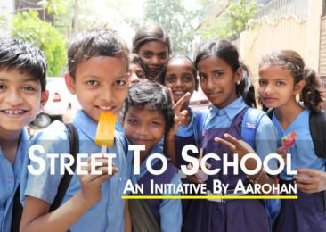 Aarohan NGO educating underprivileged children