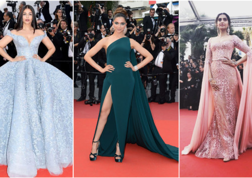 Les femmes indiennes au Festival de Cannes