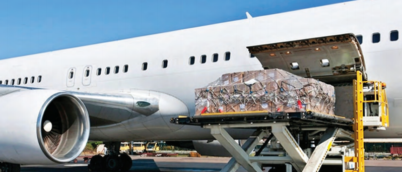 Air cargo represents about 10 pc of the airline industry's revenue
