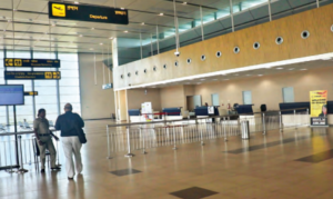 Durgapur airport has some facilities currently unseen in rest of India