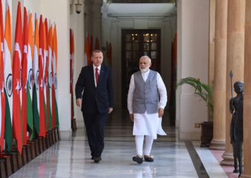 Turkey President Erdogan in India for crucial bilateral exchanges