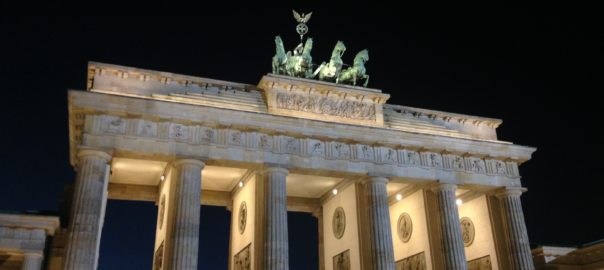 The Brandenburg Gate- where history has been made, several times
