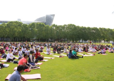 Paris to host its third International Yoga Day