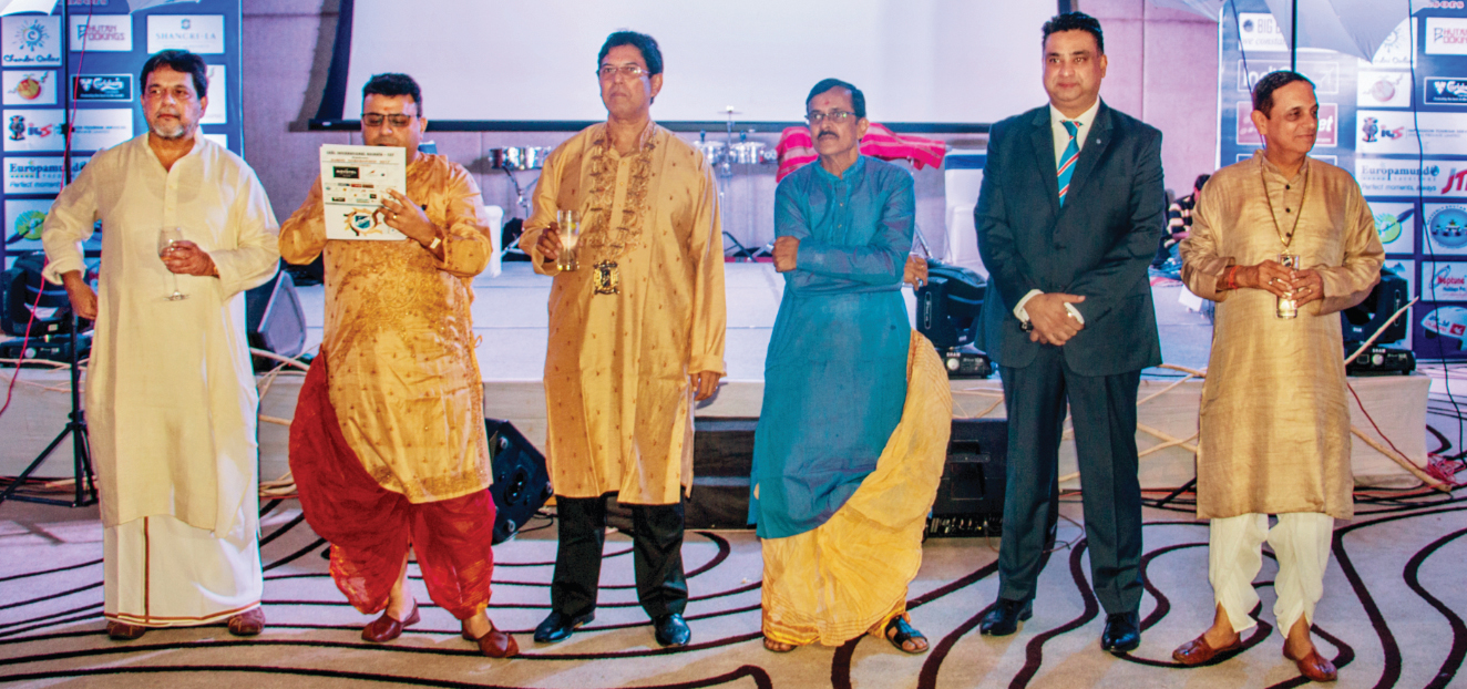 Bengali New Year celebration by the Indian National Committee of Skal International at Novotel, Kolkata