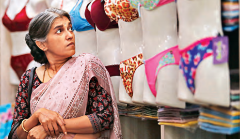 Plabita Borthakur (Above) and Ratna Pathak (Below) in 'Lipstick Under My Burkha'