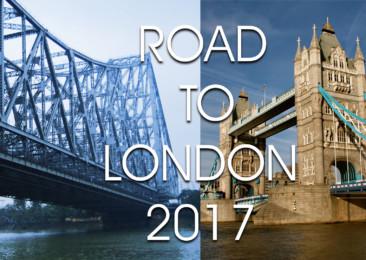 Kolkata to London World Tour 2017