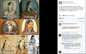 Mad Mughal Memes and other such pages sometimes sees heated debates and offended viewers with the mx of art and humour