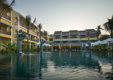 The charm of the La Siesta Resort and Spa in Vietnam