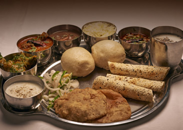 Traditional dishes from Himachal Pradesh