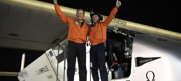 André Borschberg and Bertrand Piccard are the pioneers behind Solar Impulse