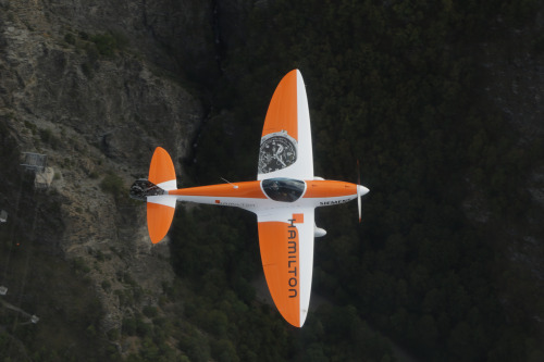 H55's engineers inaugurated with the Twister, an aerodynamic, lighweight plane made by Germany's Silence Aircraft