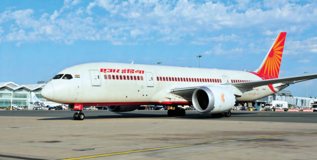 Air India's Boeing 787 Dreamliner provides great customer satisfaction