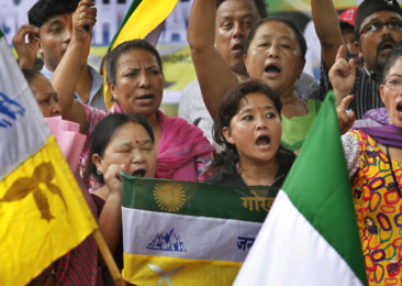 Darjeeling unrest – society cries under vested politics