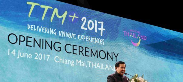 The Deputy Prime Minister of Thailand, General Tanasak Patimapragorn inaugurated TTM+