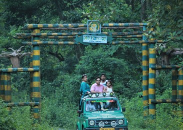 A safari in the Buxa Tiger Reserve