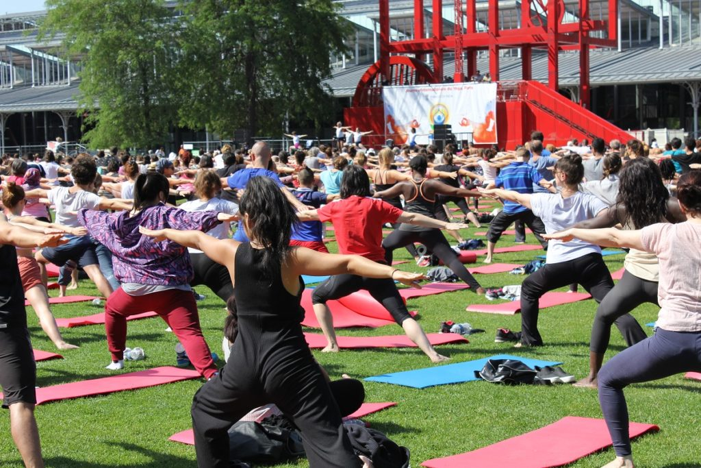 Journée internationale du Yoga : Yoga à la Villette