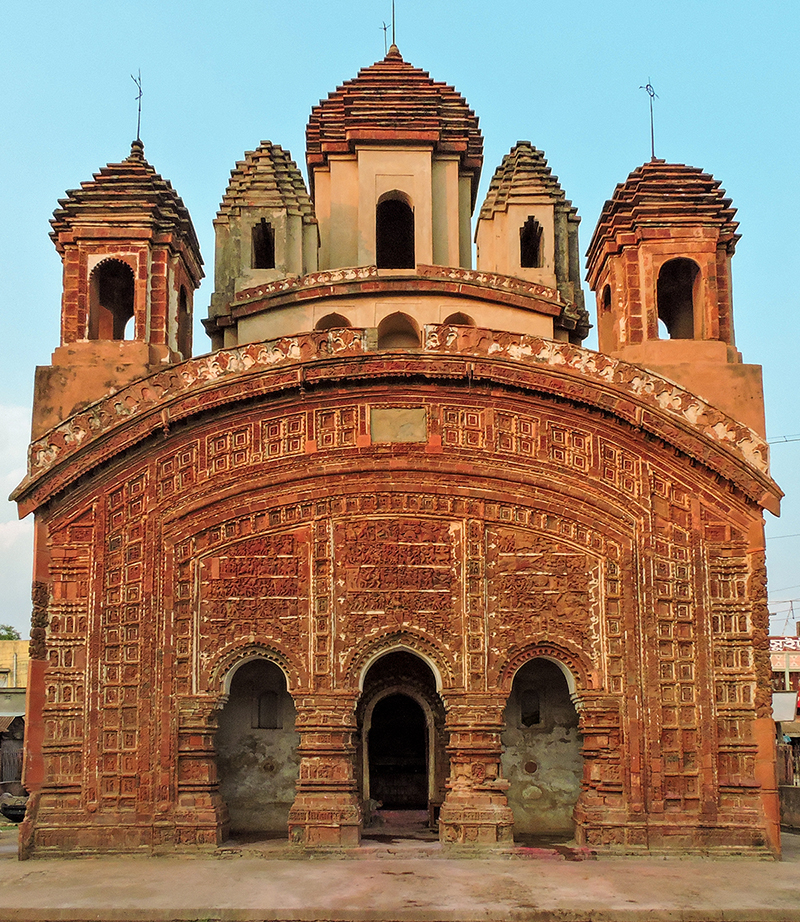 Yet another culturally significant terracotta temple in Birbhum, West Bengal