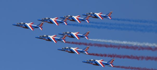 The Paris Air show is an interactive aviation meet