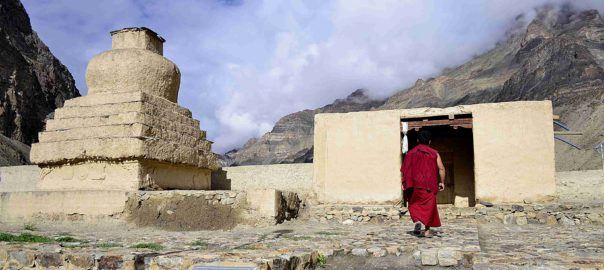 The Tabo Monastery Spiti Valley has a very interesting aesthetic. Picture: Wikimedia Commons/ CC 4.0/Arup1981