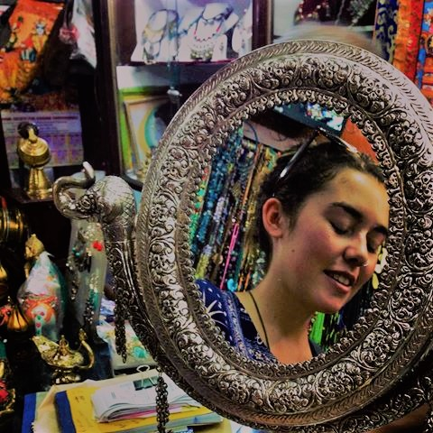 Chamba Lama caters to silver jewelry lovers from all over the world