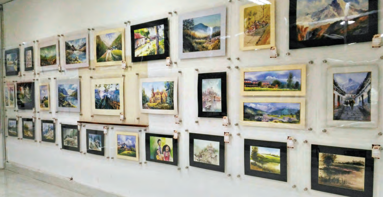 Artmart gallery at the Bagdodra airport