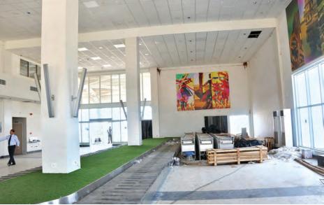 Conveyor belt being developed at Kishangarh Airport
