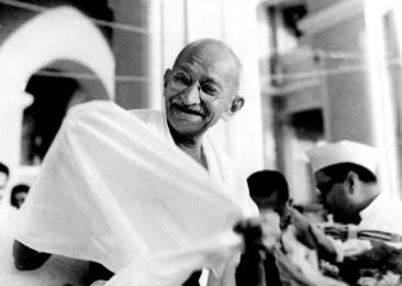 Un portrait rarissime du Mahatma Gandhi