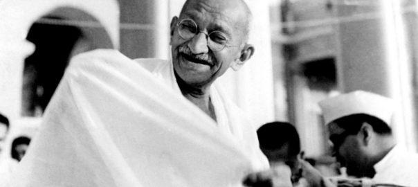 Le Mahatma Gandhi, figure politique marquante et combattant de la liberté indienne