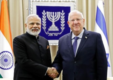 Modi's Des'Tea'nation: The Israel-India Strategic Connect