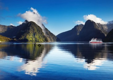 Explore the landscapes of New Zealand